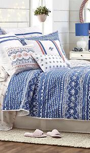 NIP Southern Tide Summer Daze Queen Comforter Bedskirt Shams Set 4pc