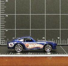 Hot Wheels Datsun 240Z 2007 Hot Wheels Racing #4 Metallic Blue #5