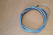 TRAILER BRAKE CABLE 2600 mm long 3mm dia wire 12 mm dia outer.