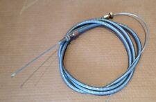 Frein de remorque câble 2600 mm Long 3 Mm Dia Fil 12 mm Dia extérieur.