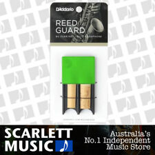 D'Addario Green Reed Guard/Protector. Stores 4 Bb Clarinet or Alto Sax Reeds.