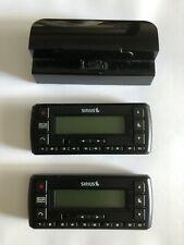 Sirius SV5 Satellite Radio Receiver Bundle - 2 receivers, 1 dock, Untested