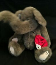 """Boyd's Bears Collection Jointed Elephant Plush Hannibel Trunkster Lg 16"""" Animal"""