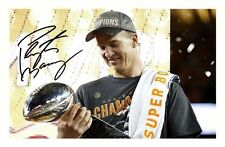 PEYTON MANNING - DENVER BRONCOS AUTOGRAPHED SIGNED A4 PP POSTER PHOTO