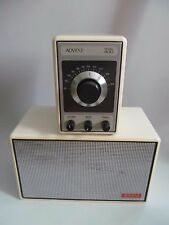 Vintage Advent am/fm Radio with Speaker Model 400 White Beautiful condition!