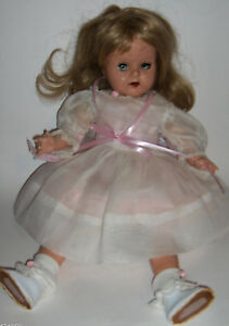 """Unknown ~ Vintage 14"""" Celluloid Doll"""