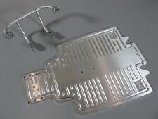 Aluminum Front Bumper Guard + Chassis A Plate Tamiya 1/10 Sand Scorcher Buggy