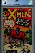 X-Men 4 CGC 1.8 1964 1st Appearance Quicksilver Scarlet Witch Silver Marvel