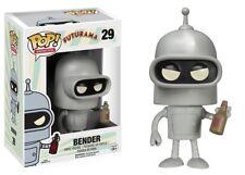 Funko - POP TV: Futurama - Bender Vinyl Action Figure New In Box