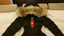 2018 LATEST ARRIVAL CONCEPT EDITION BLACK CANADA GOOSE MYSTIQUE XL PARKA JACKET