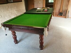 Beautiful 8 X 4 Slate Pool Table