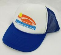 Austin City Limits ACL Music Festival OTTO Collection Blue Trucker Snapback Hat