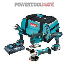 Makita DLX4051PM1 18V Li-ion LXT 4 Piece Kit c/w 3x4.0ah Batteries & Charger