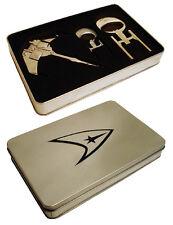 Flaschenöffner + Korkenzieher Geschenkset - Star Trek Enterprise top Design ovp