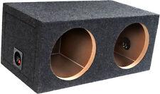 "ATREND SUBWOOFER ENCLOSURE DUAL 12"" SEALED BOX E12D ADD-12"