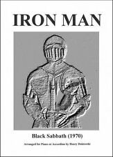 PDF & MP3: Black Sabbath's Iron Man for Solo Accordion