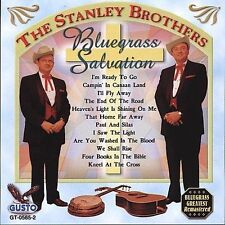 """THE STANLEY BROTHERS., CD """"BLUEGRASS SALVATION"""" NEW SEALED"""