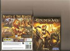 GOLDEN AXE BEAST RIDER PLAYSTATION 3 PS3 RATED 18 RETRO