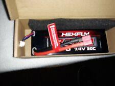 Redcat Hexfly 2S 7.4V LiPo 3200mah 20C Battery HX-320020C-D Deans Connector