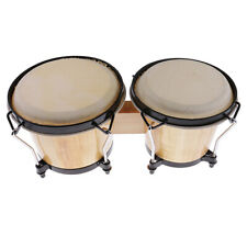 Durable Wood Bongo Drum African Traditional Drum Band Party Accessory
