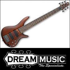 Ibanez SR506 BM Electric Bass Guitar 6-String Brown Mahogany Finish RRP$1499