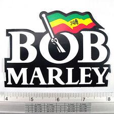 """Bob Marley Reggae Singer Decals Sticker Non Reflective Light 3x4"""""""