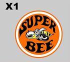 VINTAGE DODGE SUPER BEE DECAL 4