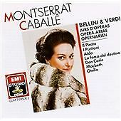 Montserrat Caballé Sings Bellini and Verdi Arias, , Very Good Import
