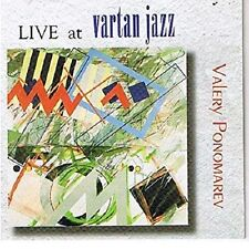 Valery Ponomarev - Live at Vartan Jazz / New & sealed oop cd