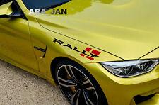 RALLY Sport Decal Sticker car racing emblem logo motorsport performance PAIR