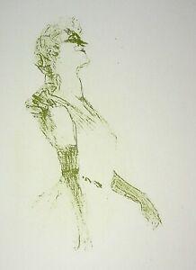 Tolosa Lautrec: Sera Galante - Litografia Firmato, 1950