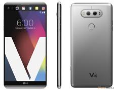 Débloqué Téléphone LG V20 H910 64GB Go 16 Mpx Androïde 4G LTE Quad-core -Argenté