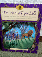 1998 Narnia Paper Dolls The Lion, The Witch And The Wardrobe Collection Complete