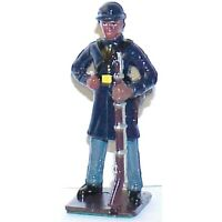 AMERICANA Civil War Union Colored Troop Painted Metal Fits w Britains FREE SHIP