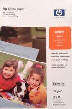 hp photo paper inkjet glossy 175g/m 60 sheets