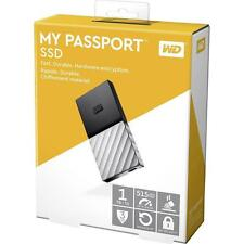 Western Digital My Passport External SSD 1TB Solid State Drive USB3.1 Type-C