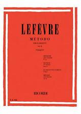 RICORDI Lefèvre, Jean Xavier - METODO Per CLARINETTO, Vol 2