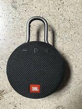 JBL Clip 3 Portable Wireless Bluetooth Waterproof Speaker Rechargeable Black