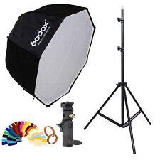 Godox 80cm Octagon Umbrella Softbox and Photography Light Stand kit