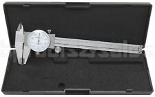 """6"""" DIAL CALIPER STAINLESS STEEL SHOCKPROOF .001"""" OF ONE INCH."""