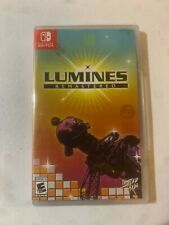 Lumines Remastered Edition Nintendo Switch Limited Run Games #27 New Sealed