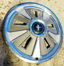"(1) Vintage OEM 1966 66 Ford Mustang 14"" Deluxe Hubcap Wheel Cover C6ZZ-1130-A"