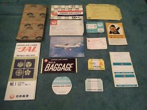 Japan airlines Ticket Holder Ticket Timetable Ect