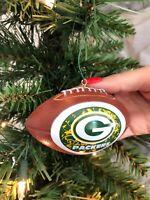 NFL Green Bay Packers Mini Replica Football Ornament Christmas Tree Ornament
