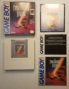 GameBoy Final Fantasy Legend Complete *PLUS*