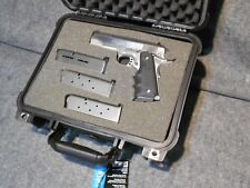 "*Case For COLT 1911 4-1/4"" BARREL w/Solid Foam Cutout Apache 2800 NEW SHIPS FREE"