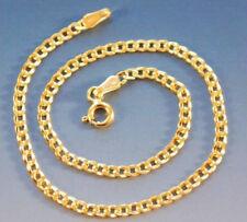 Gold Neu 585 Gelbgold Armband schönes 14 Karat Panzer Goldarmband Panzerarmband