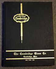 CAMBRIDGE GLASS Company OHIO Reference VALUE GUIDE 1949 1953 Stemware ETCHINGS
