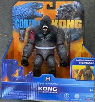 "Godzilla vs Kong KONG WITH BATTLE AXE Playmates Monsterverse 6"" Inch Figure"