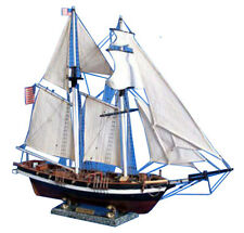 "Baltimore Clipper Harvey 32"" - Wooden Clipper Model Ship - Tall Model Ship - Mod"